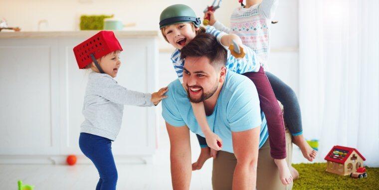 Actividades para hacer en casa con niños y niñas de 0 a 3 años